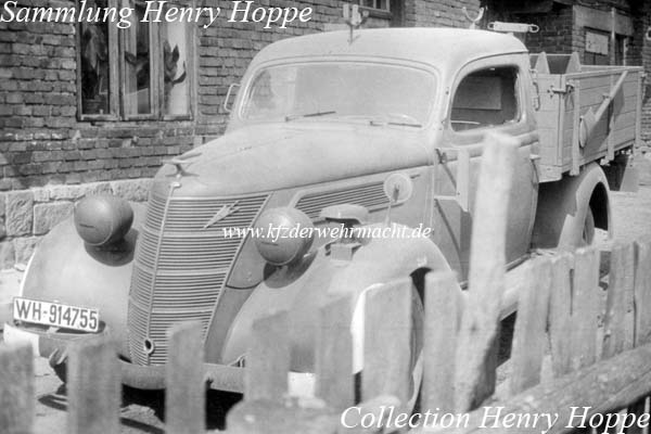 Ford V-8 Mod 1937-39 Pick-Up-Umbau, WH-914755, Hoppe
