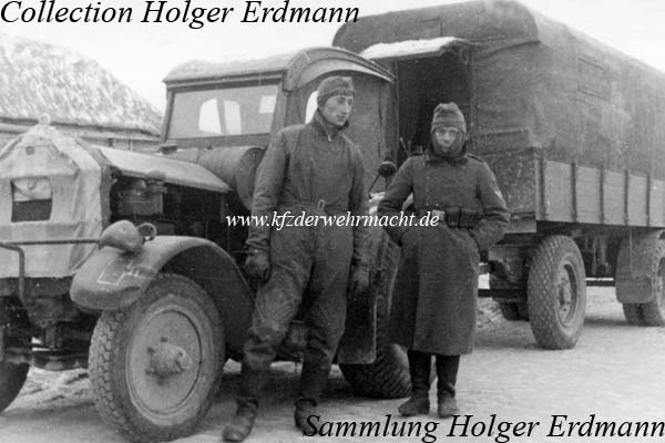 In this case, a Hanomag SR 45 was used by a signals unit of the ...
