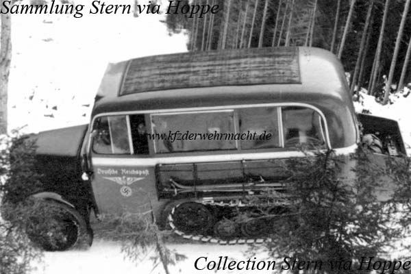 Mercedes-Benz LR 75, Stern via Hoppe